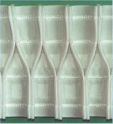 3210.003  Шторная Лента Белая 1003 | Компания «Сиртекс-Дизайн»