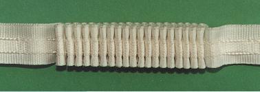 1501 Шторная лента белая | Компания «Сиртекс-Дизайн»