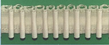 Шторная тесьма белая (2601) | Компания «Сиртекс-Дизайн»