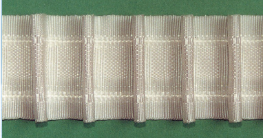 Шторная тесьма белая (3240.001) | Компания «Сиртекс-Дизайн»
