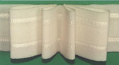 Шторная тесьма белая (3240.106) | Компания «Сиртекс-Дизайн»