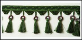 Бахрома с кисточками 47033-0105 | Компания «Сиртекс-Дизайн»