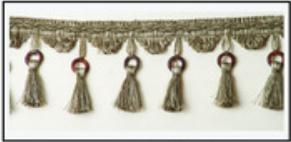 Бахрома с кисточками 47033-0164 | Компания «Сиртекс-Дизайн»