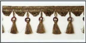 Бахрома с кисточками 47033-0211 | Компания «Сиртекс-Дизайн»