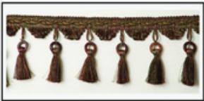 Бахрома с кисточками 47033-0439 | Компания «Сиртекс-Дизайн»