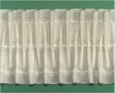 Шторная тесьма белая (3265.007) | Компания «Сиртекс-Дизайн»