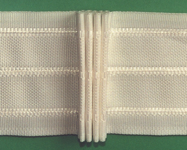 Шторная тесьма белая (3240.008) | Компания «Сиртекс-Дизайн»