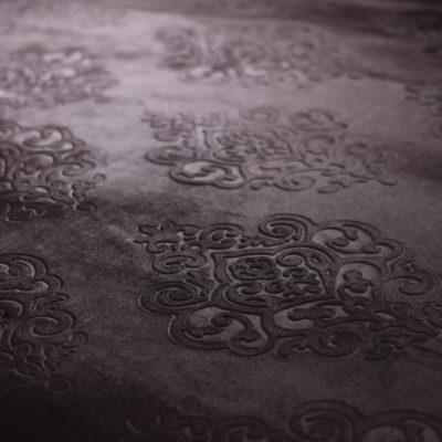 Бархат с тиснением коричневый (11А-9) | Компания «Сиртекс-Дизайн»