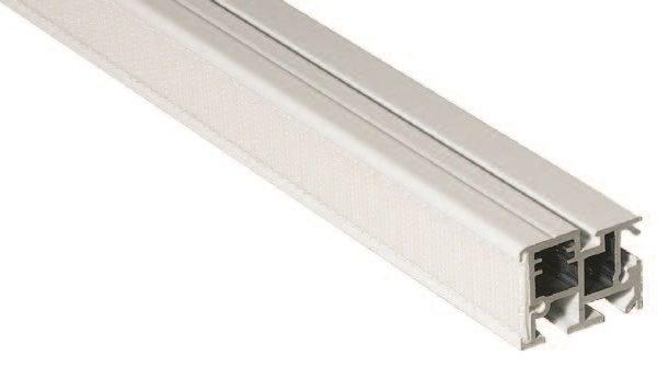 Алюминиевый профиль для римской шторы (410050) | Компания «Сиртекс-Дизайн»