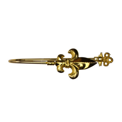 Держатель Лилия большая золото | Компания «Сиртекс-Дизайн»
