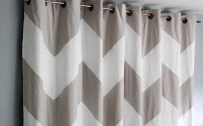 Из какой ткани шьют шторы?