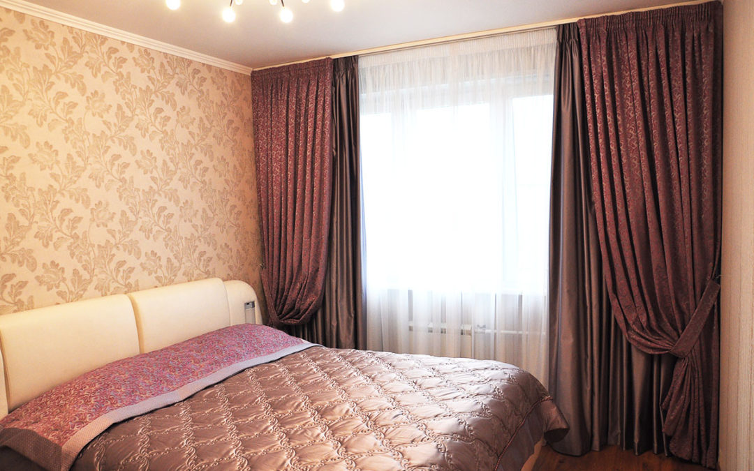 Портьерные ткани для спальни
