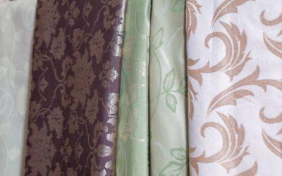 Какие бывают портьерные ткани?