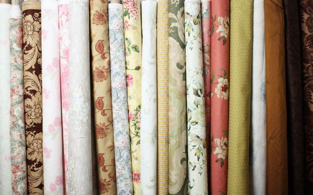 Какие ткани используют для штор?