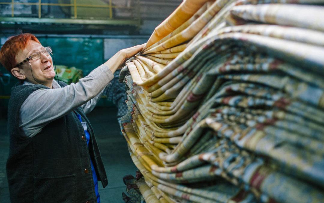 Ткань для штор из Сирии