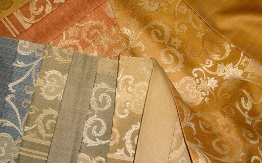 Разновидности тканей для штор