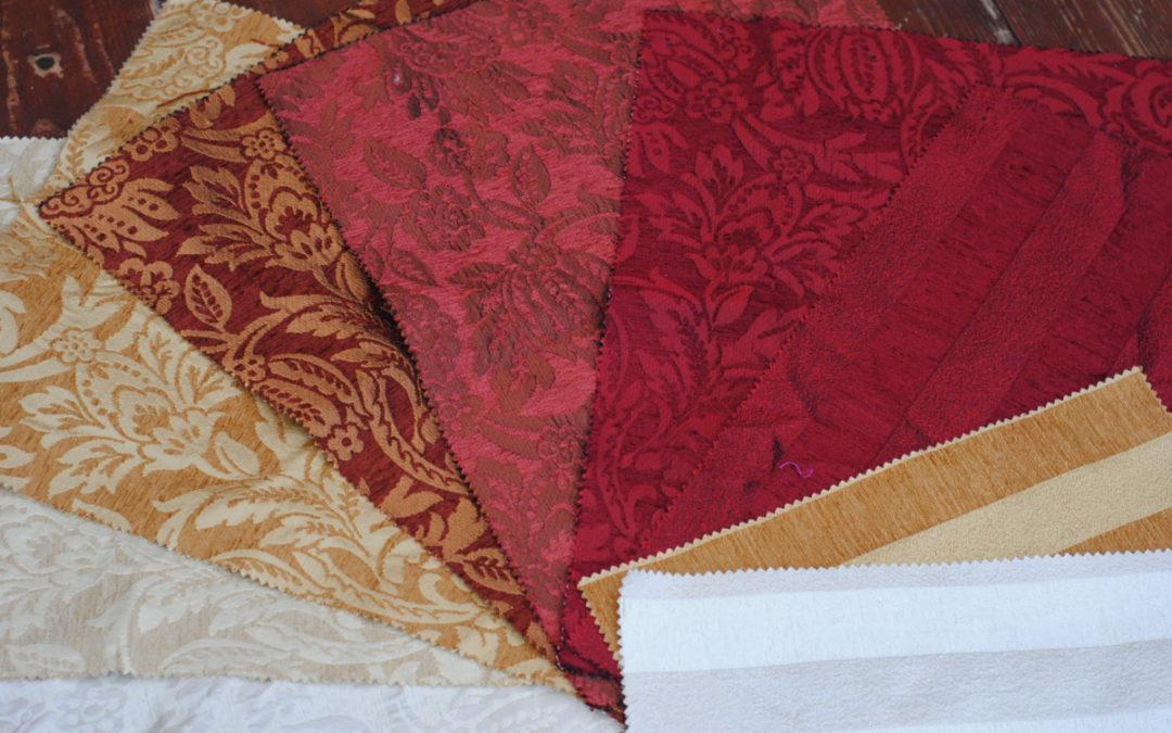 Выбор портьерной ткани