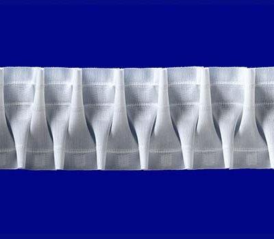 Шторная Лента Белая 85 SMOCK (35585011) | Компания «Сиртекс-Дизайн»