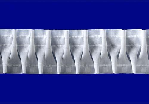 Шторная Лента Белая 85 SMOCK (35585011)   Компания «Сиртекс-Дизайн»