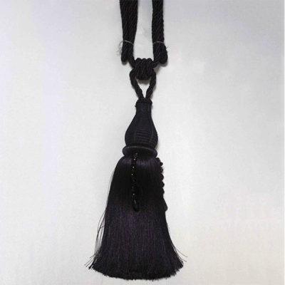 Подхват с кистью, декорирован камнями 17943-0194 | Компания «Сиртекс-Дизайн»