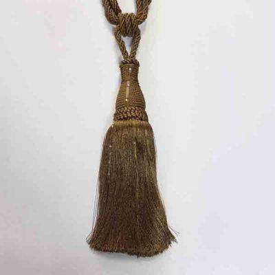 Подхват с кистью, декорирован стразами 17951-0167 | Компания «Сиртекс-Дизайн»