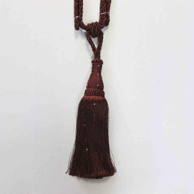 Подхват с кистью, декорирован стразами 17951-0258 | Компания «Сиртекс-Дизайн»