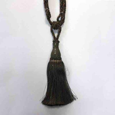 Подхват с кистью, декорирован стразами 17951-0439 | Компания «Сиртекс-Дизайн»