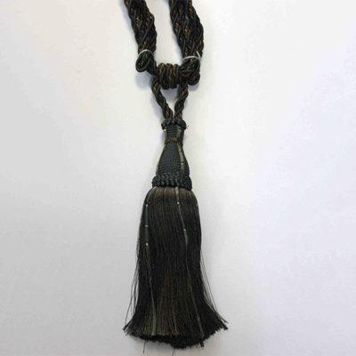 Подхват с кистью, декорирован стразами 17951-0440 | Компания «Сиртекс-Дизайн»