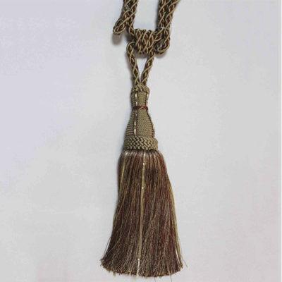 Подхват с кистью, декорирован стразами 17951-0735 | Компания «Сиртекс-Дизайн»