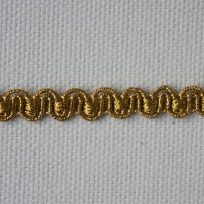 Тесьма декоративная «змейка» узкая (0049097-0015) (0049097-0015)