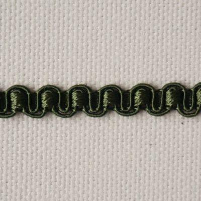 Тесьма декоративная «змейка» узкая (0049097-0116) (0049097-0116)