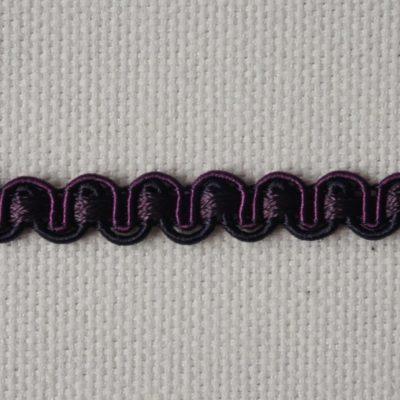 Тесьма декоративная «змейка» узкая (0049097-0194) (0049097-0194)