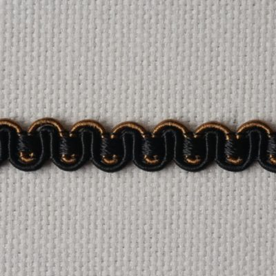 Тесьма декоративная «змейка» узкая (0049097-0235) (0049097-0235)