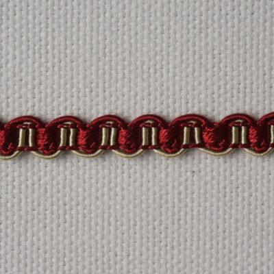 Тесьма декоративная «змейка» узкая (0049097-0337) (0049097-0337)