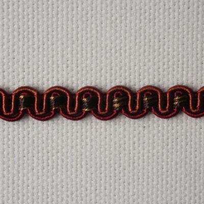 Тесьма декоративная «змейка» узкая (0049097-0454) (0049097-0454)