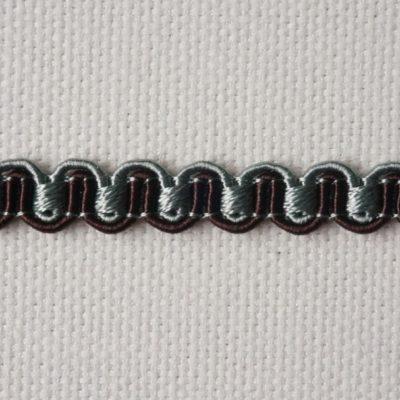 Тесьма декоративная «змейка» узкая (0049097-0543) (0049097-0543)