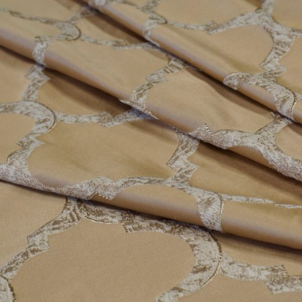 16087.8433 Ткань D'Oro золото ромб | Компания «Сиртекс-Дизайн»