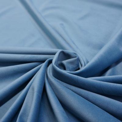 Бархат небесно голубой (MATTE VELVET-7) | Компания «Сиртекс-Дизайн»