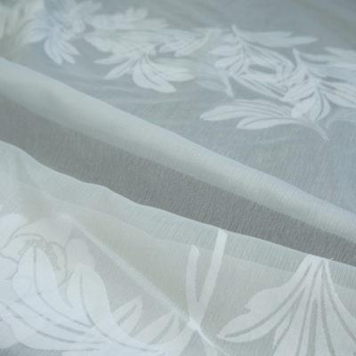 Полуорганза — принт Betty (18051) (18051.white) (18051.white)