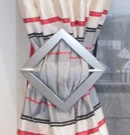 Декоративная пряжка для гардин 17.16 (9912) | Компания «Сиртекс-Дизайн»