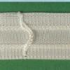 2600 Шторная тесьма белая (2600)
