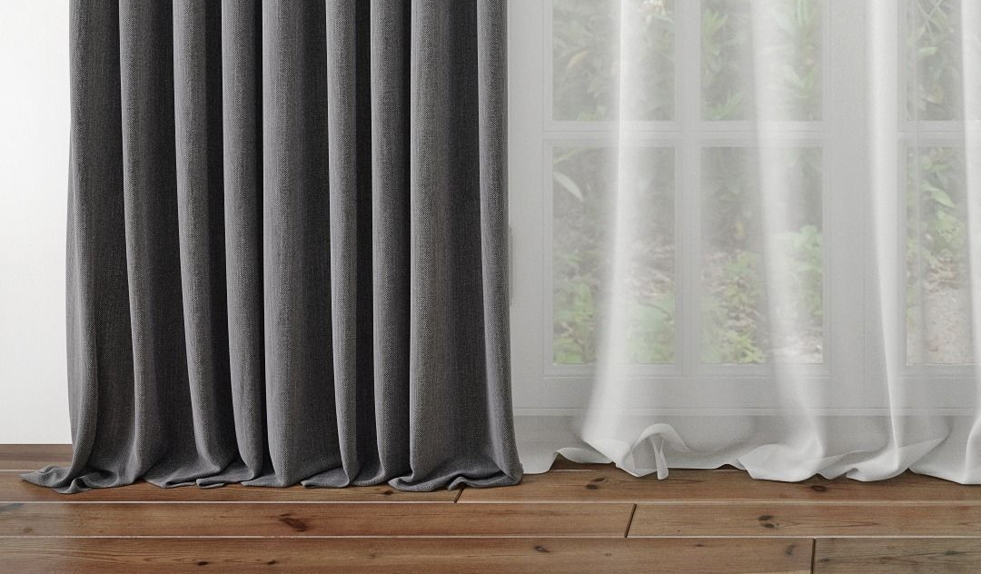 Как правильно подшить штору лентой?