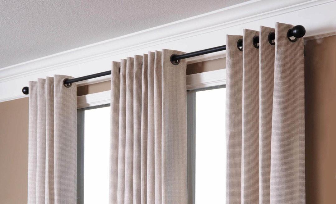 Как сделать люверсы на шторах?